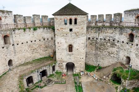 eastern europe: Inner yard of Soroca Fortress, Moldova, Eastern Europe Editorial