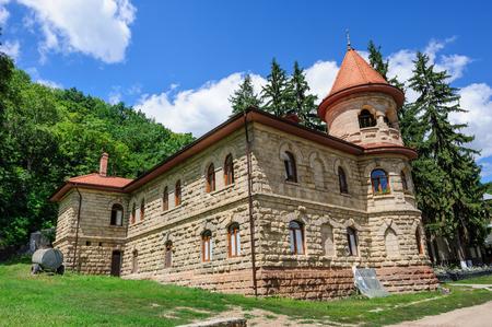 Womens orthodox monastery near Rudi village at the north of Republic of Moldova Stock Photo