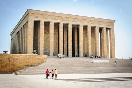 mustafa: Mausoleum of Ataturk AKA Mustafa Kemal in Ankara, Turkey