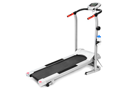 workouts: gym equipment, treadmill for cardio workouts Stock Photo