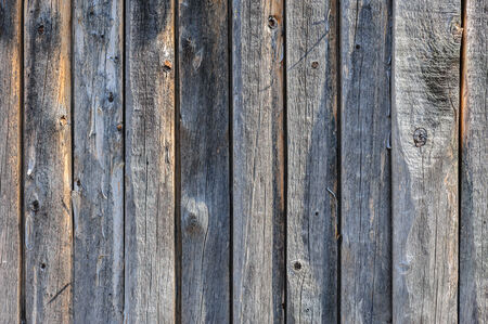 driftwood: vertical grey aged wooden boards plank  Stock Photo