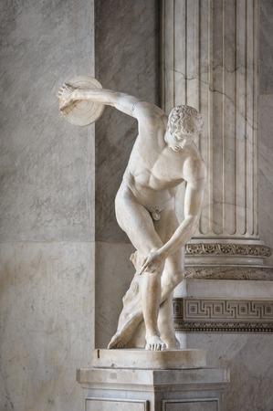 Miron Discobolus sculpture