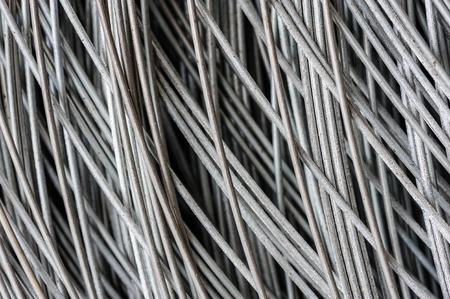 hank: hank of metal wire background