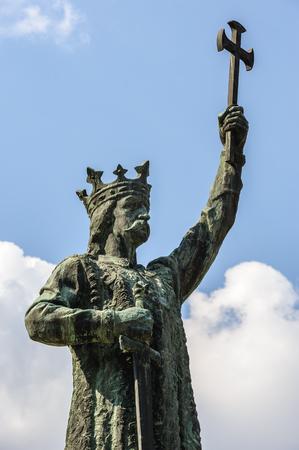 cel: Monumento di Stefan cel Mare a Chisinau, Moldova