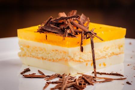 Layered cheesecake photo