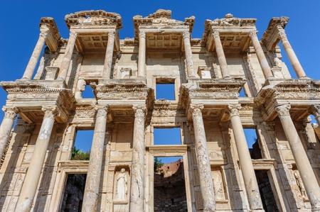 celsius: Ancient Celsius Library in Ephesus, Turkey Stock Photo