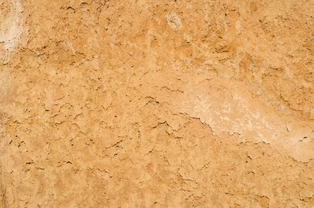 Arcilla textura del suelo de fondo, la superficie seca Foto de archivo - 33911366