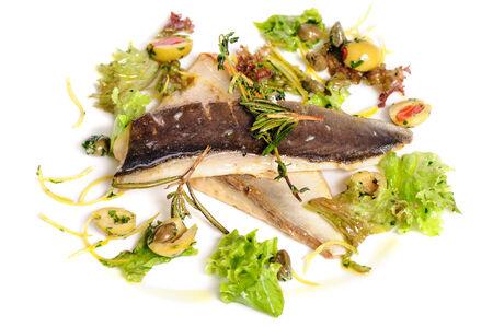 filete de pescado: Filete de pescado frito