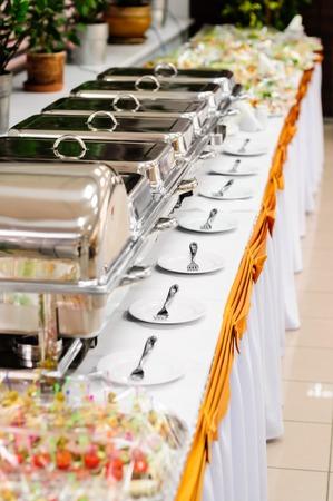 Boda catering Foto de archivo - 35162648