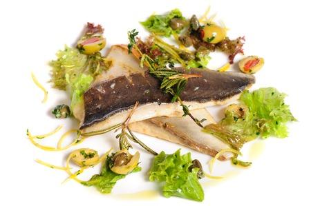 fish fillet: Fried fish fillet