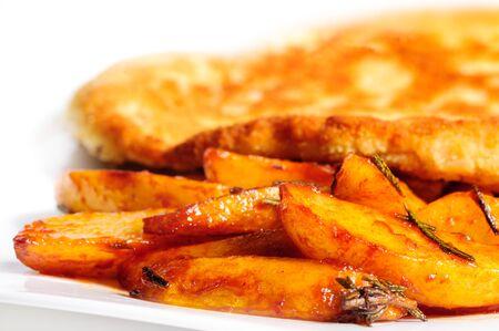 karaj: Fried pork chop with potato