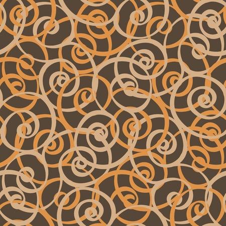 tints: spiral curls vector seamless tiling pattern