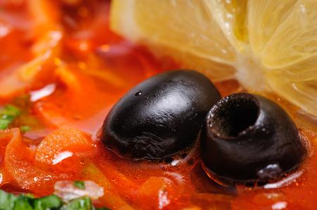 solyanka: Russian and Ukrainian soup solyanka
