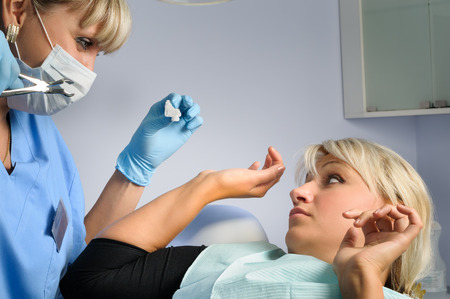 torture: Tooth extraction