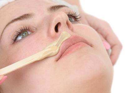 waxen: snor ontharen