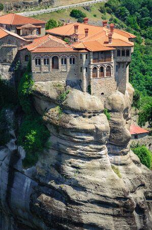 kalampaka: The holly monastery of Varlaam, Meteora, Greece