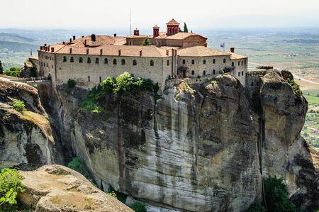 kalampaka: Greek orthodox monastery, Meteora, Greece