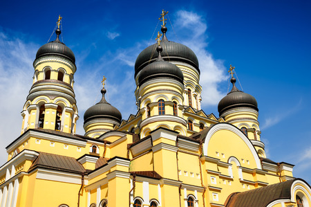 church architecture: Main church in the Hancu Monastery, Republic Moldova
