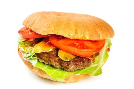hamburger: realistic looking hamburger