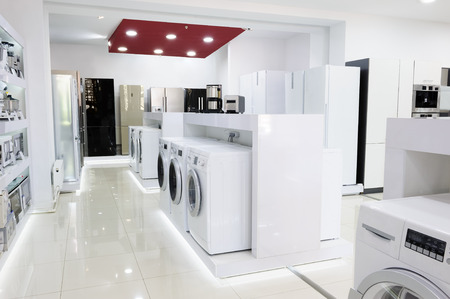 home appliance: Home appliance in the store