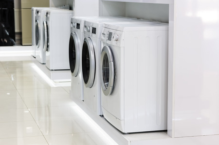appliance: Domestic appliance in the store