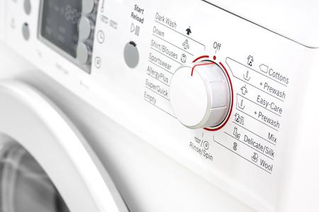 closeup of laundry or washing machine