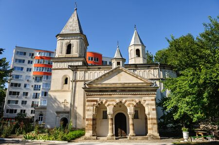 apostolic: The Armenian Apostolic Church of the Holy Virgin, Chisinau, Republic of Moldova. Was built in 1804 in place of old Orthodox one wich have been destroyed in Russian-Ottoman war.