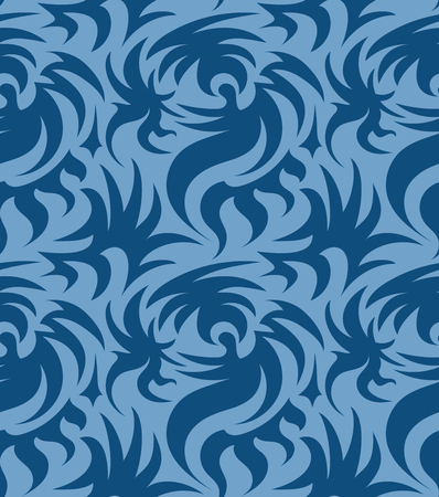 clutches: Abstract seamless thorny organic pattern. vector illustration Illustration