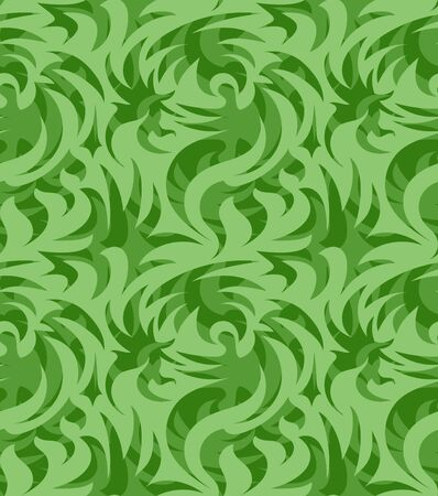 Abstract seamless thorny organic pattern. vector illustration Illustration