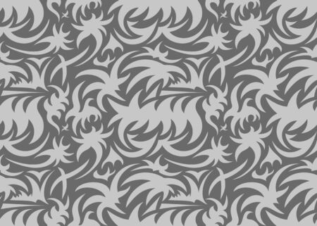 clutches: Abstract seamless organic pattern. vector illustration
