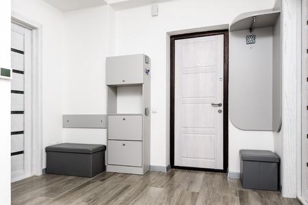 Modern brand new hallway interior