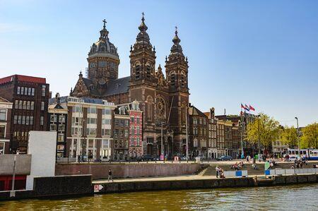 Basilica of Saint Nicholas, Amsterdam Editorial