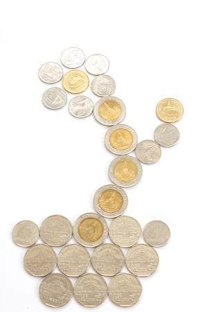 embedding: Coins blossom