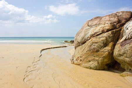 The sea at KhaoNaYak, Khao lampi Hat Thaimuang National Park, Thailand Stock Photo - 11715761