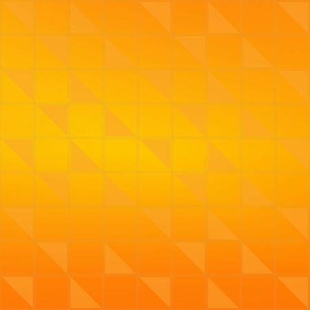 fondo geometrico: Abstract  geometric background with orange gradient triangles