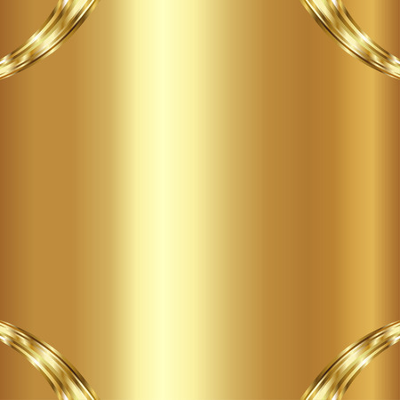 Vector  illustration of gold background. Vector illustration Stock Illustratie