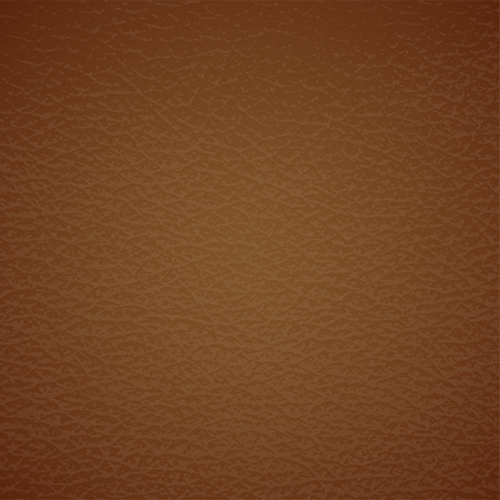 texture leather: Leather  texture on brown. Vector eps10 illustration Illustration