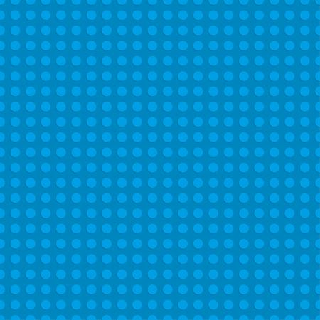 파란색 플라스틱 건설 접시입니다. 원활한 패턴 배경입니다. 벡터 일러스트 레이 션
