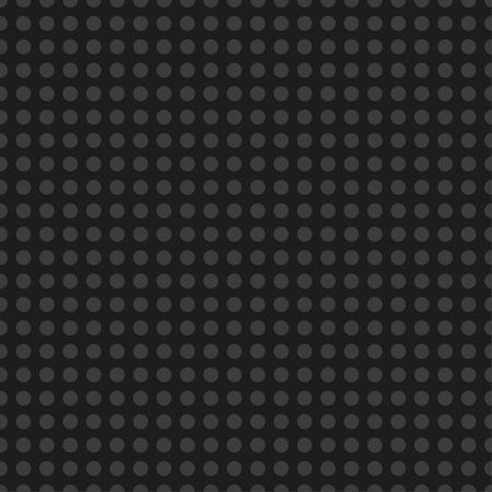 Black  plastic construction plate. Seamless pattern background. Vector illustration