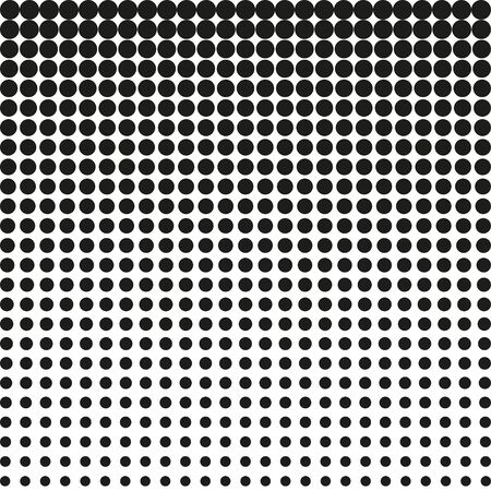 Abstract chalftone. Black dots on white background. Halftone background. Vector halftone dots. halftone on white background. Background for design Illusztráció