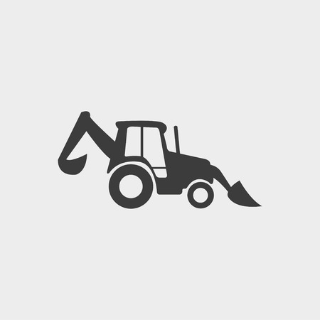 mini loader: Loader icon in a flat design in black color. Vector illustration