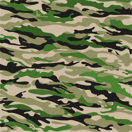 woodland: Woodland Camouflage Background in green. Vector illustration