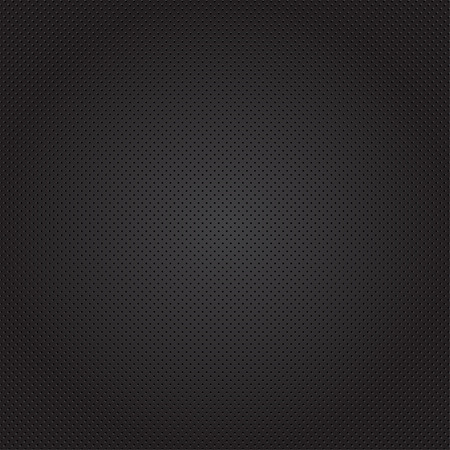 rut: Black texture background with circles. Vector illustration