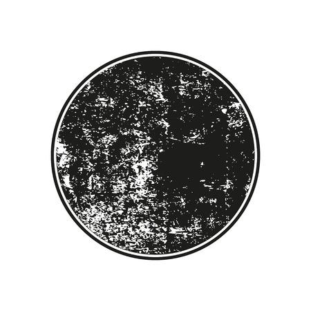 Black grunge rubber stamp on a white background Ilustração