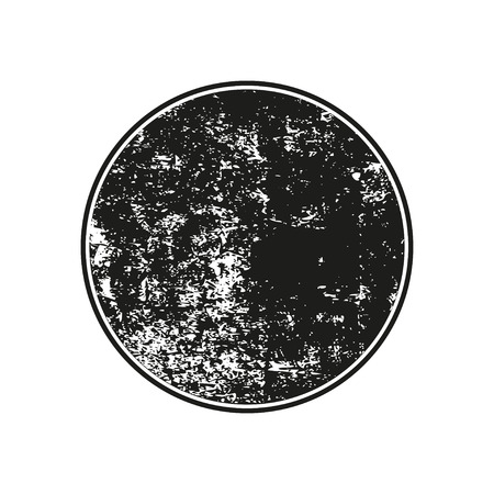 Black grunge rubber stamp on a white background Vettoriali