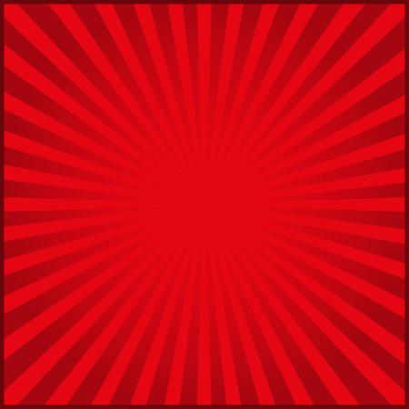 Rode stralen van vector carnaval achtergrond. vector illustratie Vector Illustratie