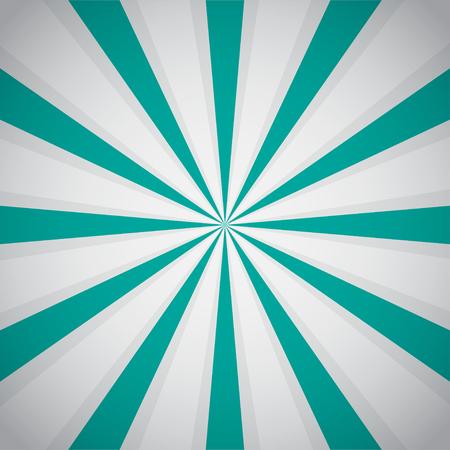 suprise: Retro blue background ray and stylish illustration. Vector illustration