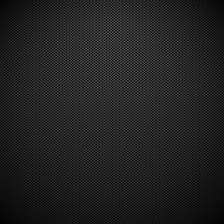 炭素繊維テクスチャ背景。金属グリッド。ベクトル図