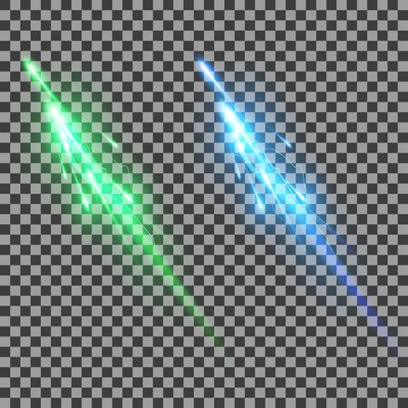 Two Lightning On A Transparent Background Green And Blue Royalty Free Cliparts Vectors Stock Illustration Image 62692748