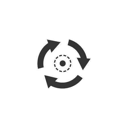 Consistent icon in simple design. Vector illustration Ilustração